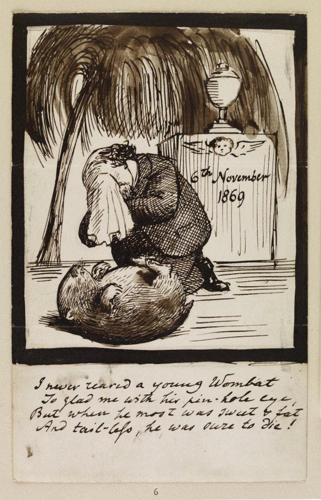 Dante Gabriel Rossetti wombat Top