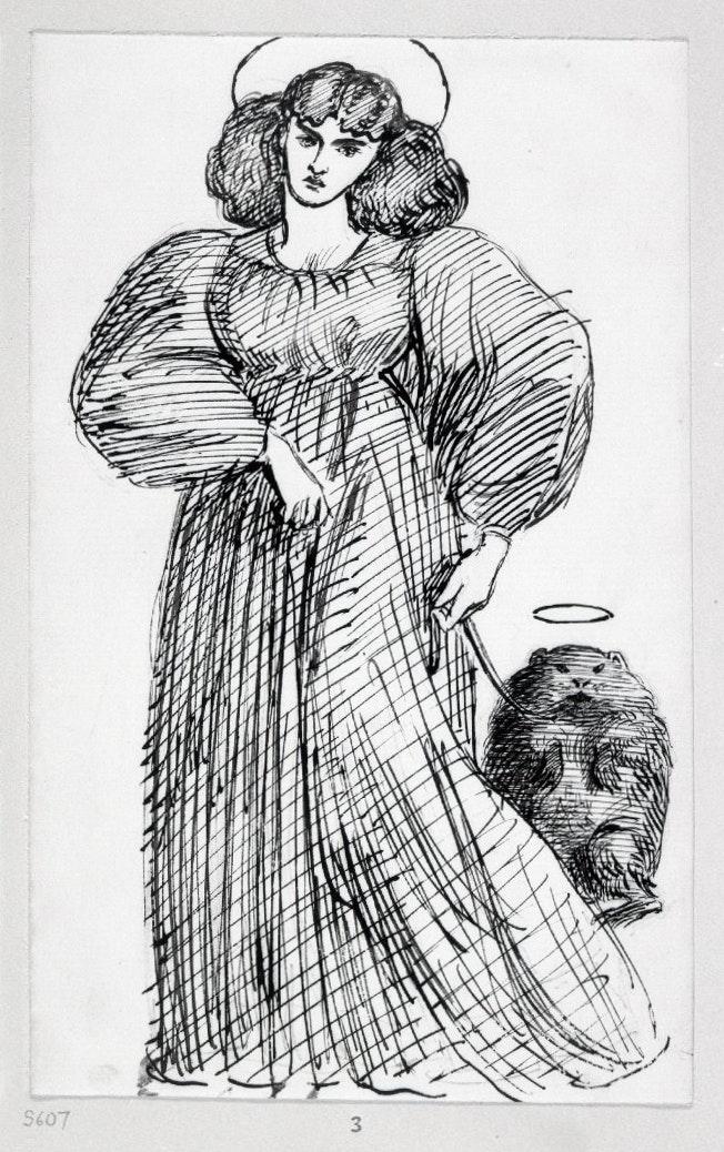 Jane Morris and Top wombat