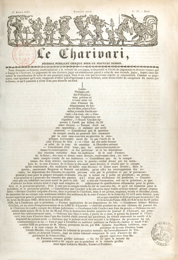 Typographic Pear Charivari