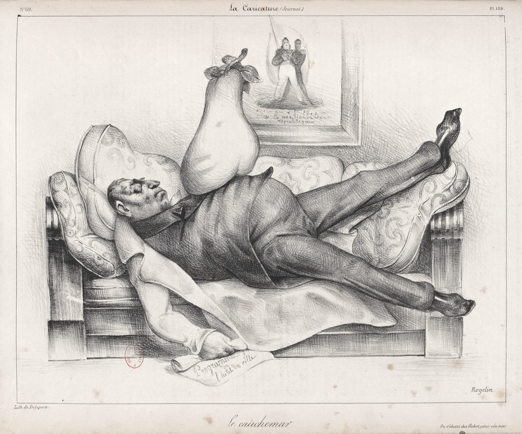 Honoré Daumier The Nightmare