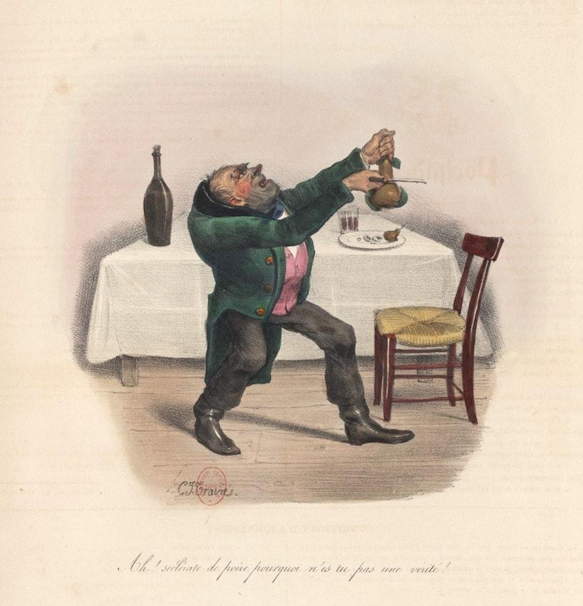 Charles-Joseph Traviès Deceitful Pear