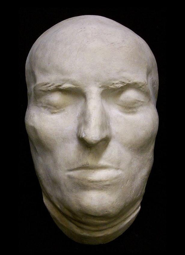 schiller death mask