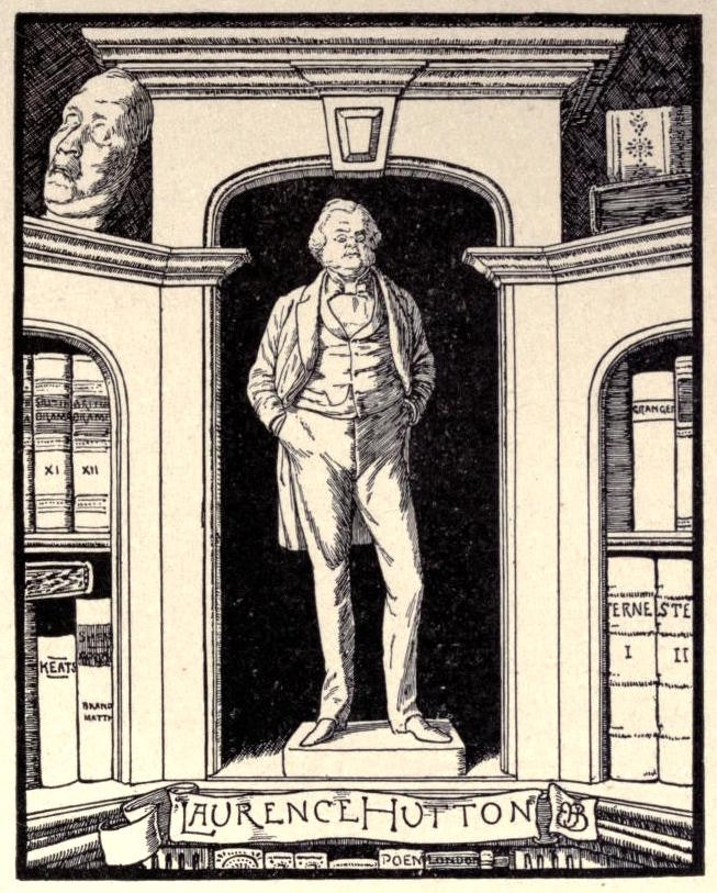 laurence hutton bookplate