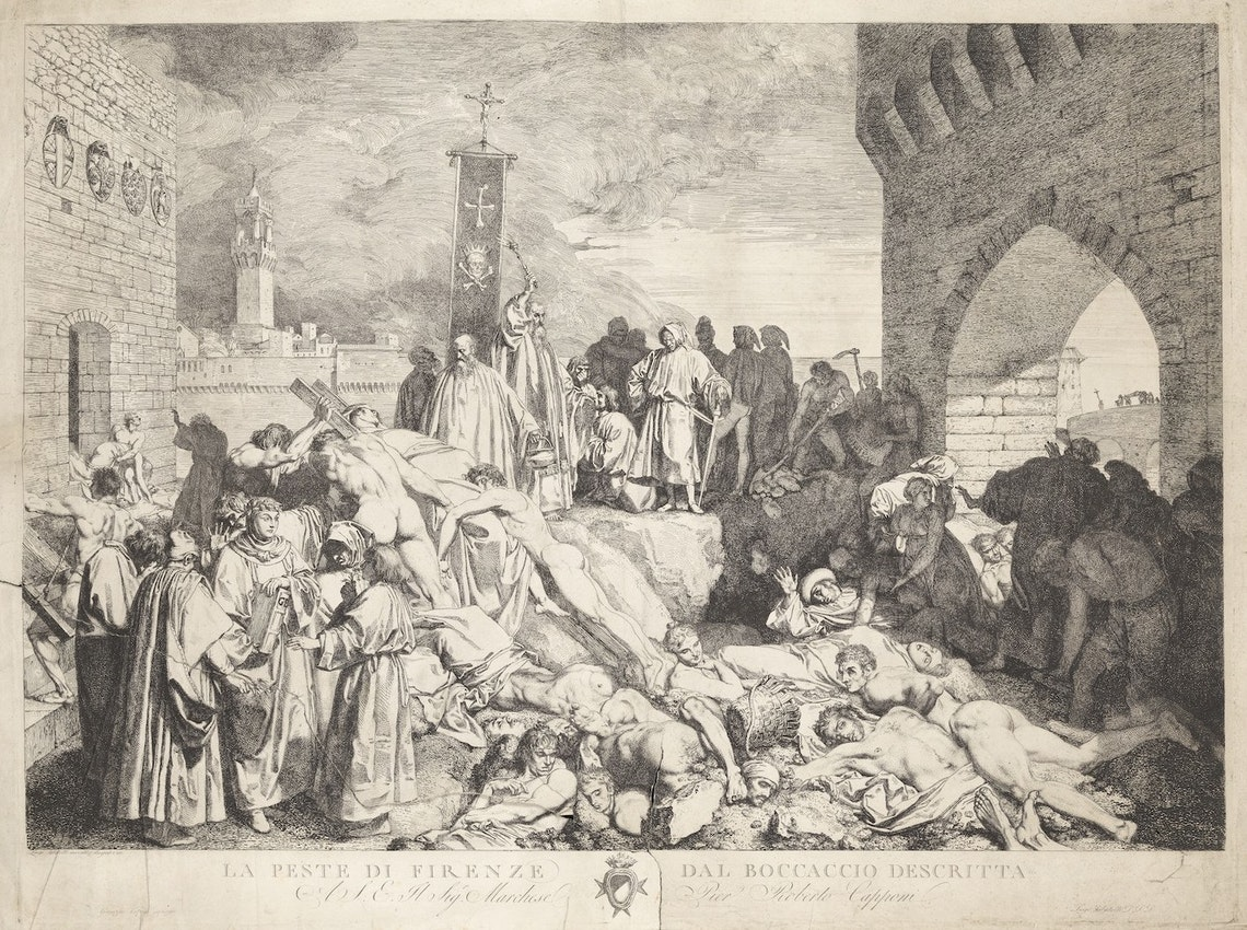 Florence plague Boccaccio