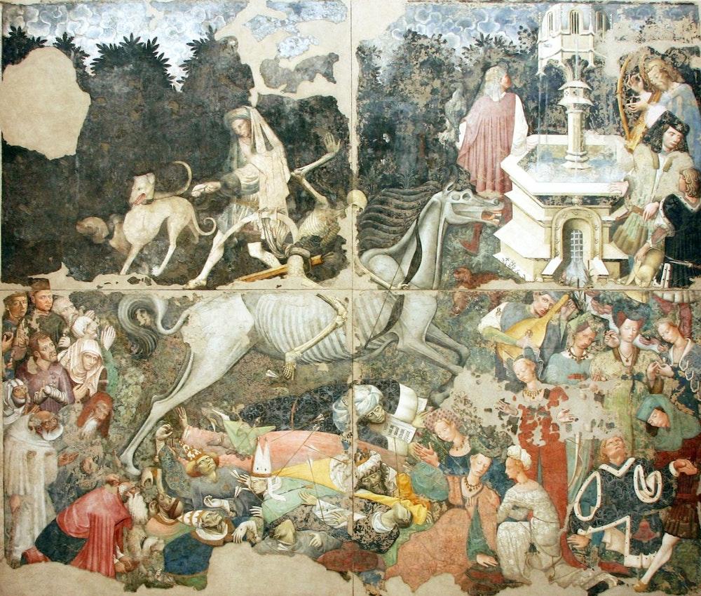 triumph of death fresco Palazzo Abatellis