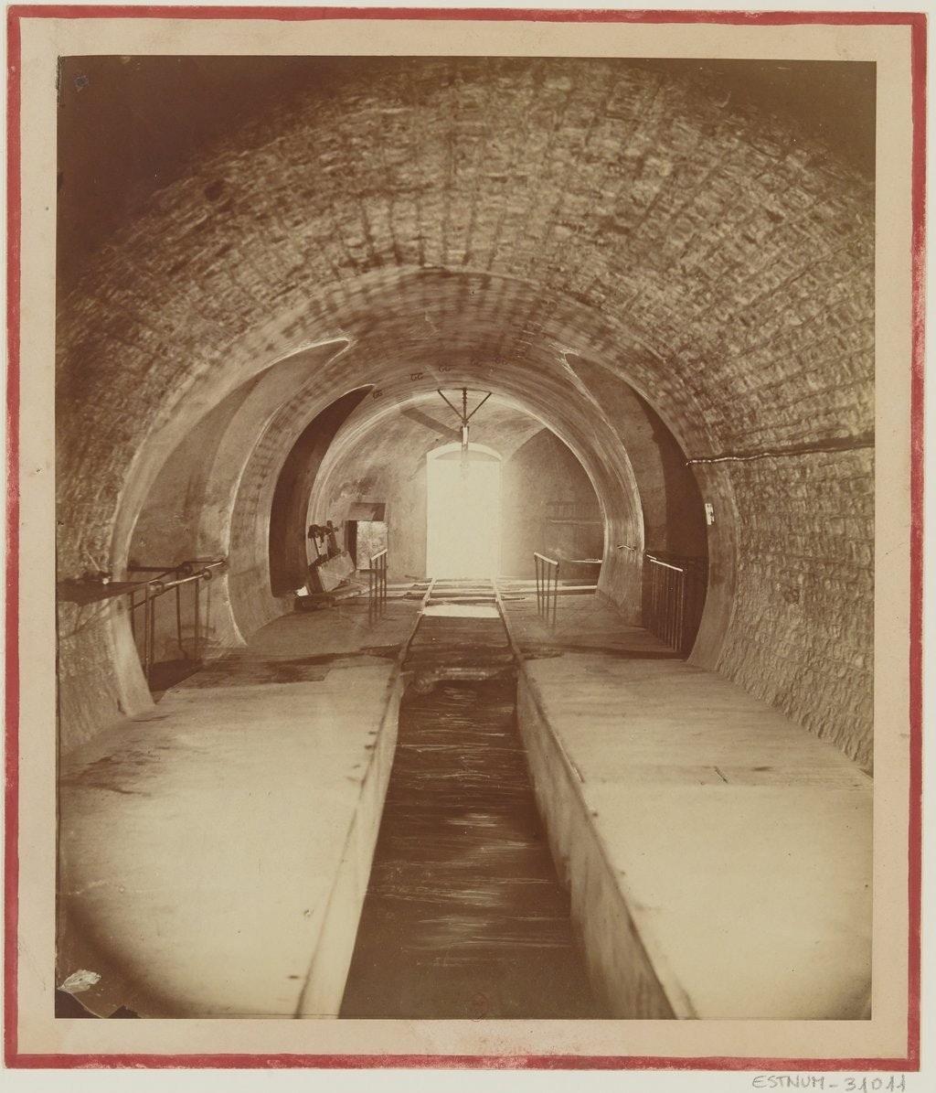 Nadar Paris sewers
