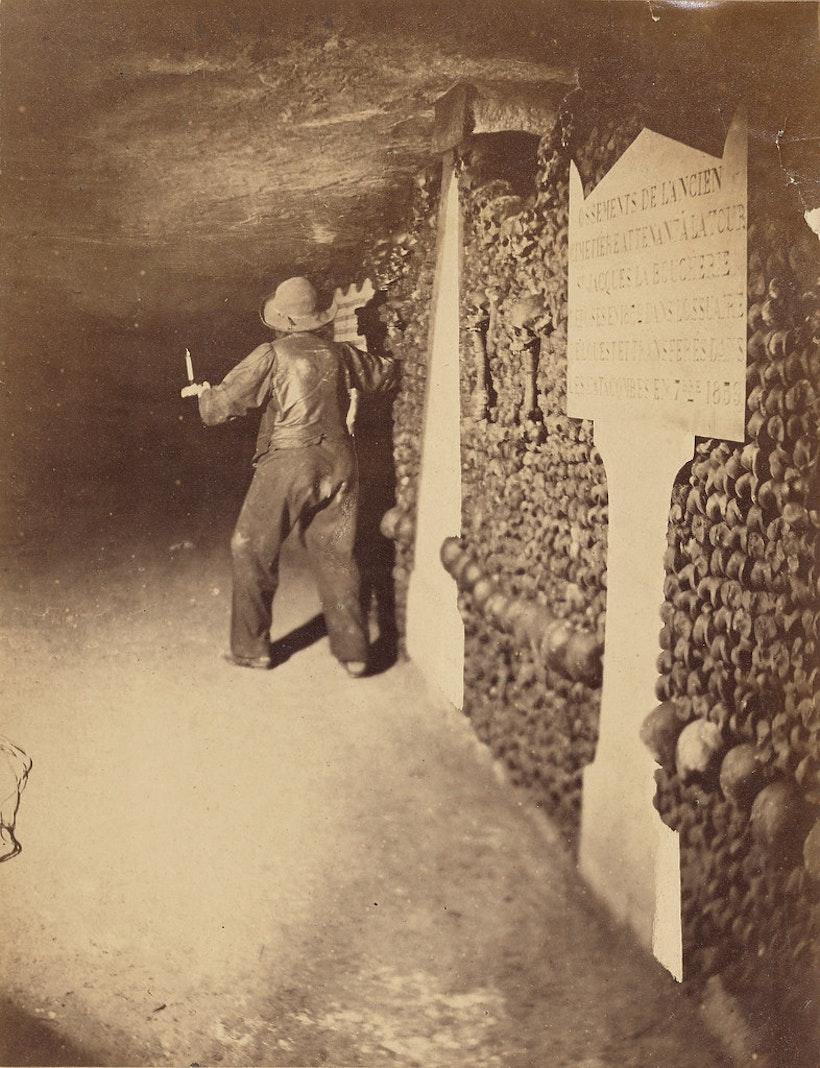 Nadar Paris Catacombs