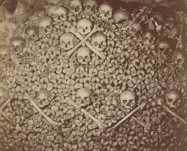 Photographing the Dark: Nadar's Descent into the Paris Catacombs