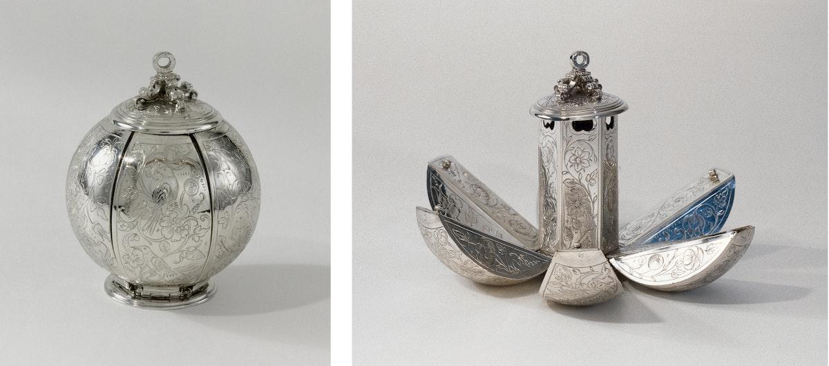 Silver Dutch pomander