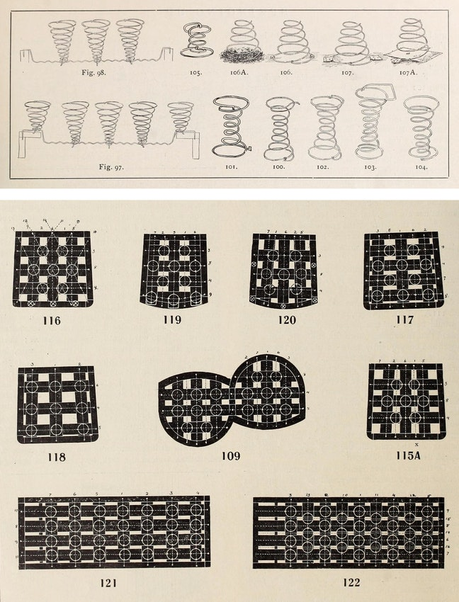 diagrams of furniture springs