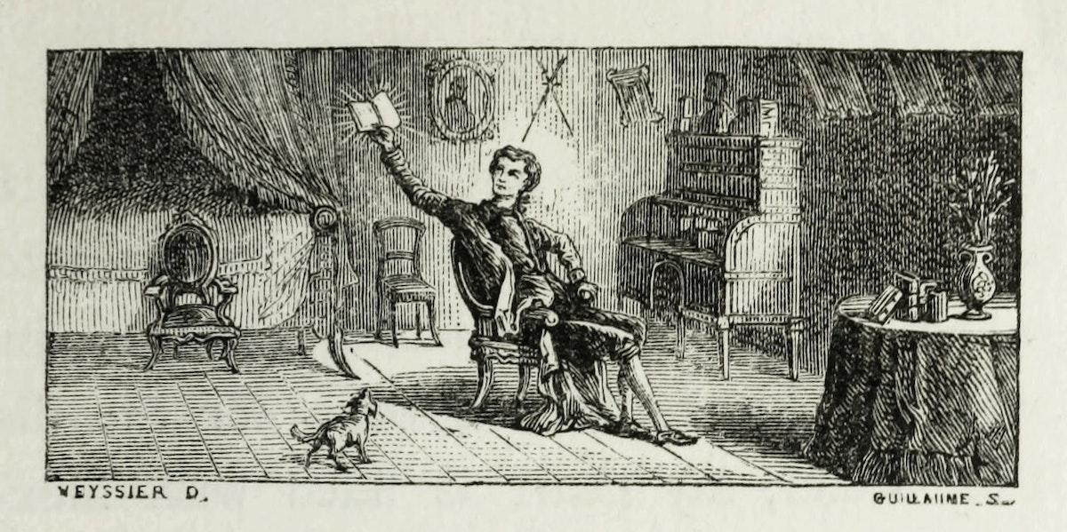 Xavier de Maistre illustration
