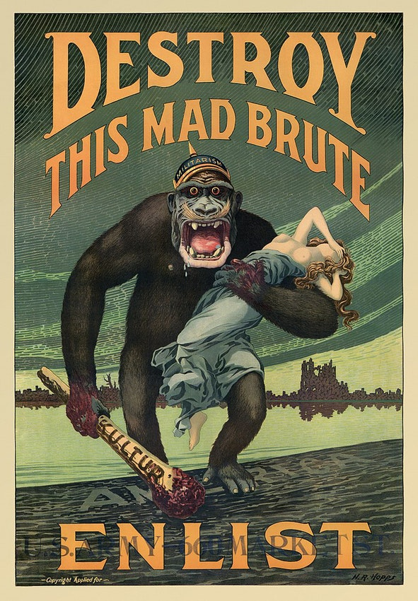 destroy this made brute army poster