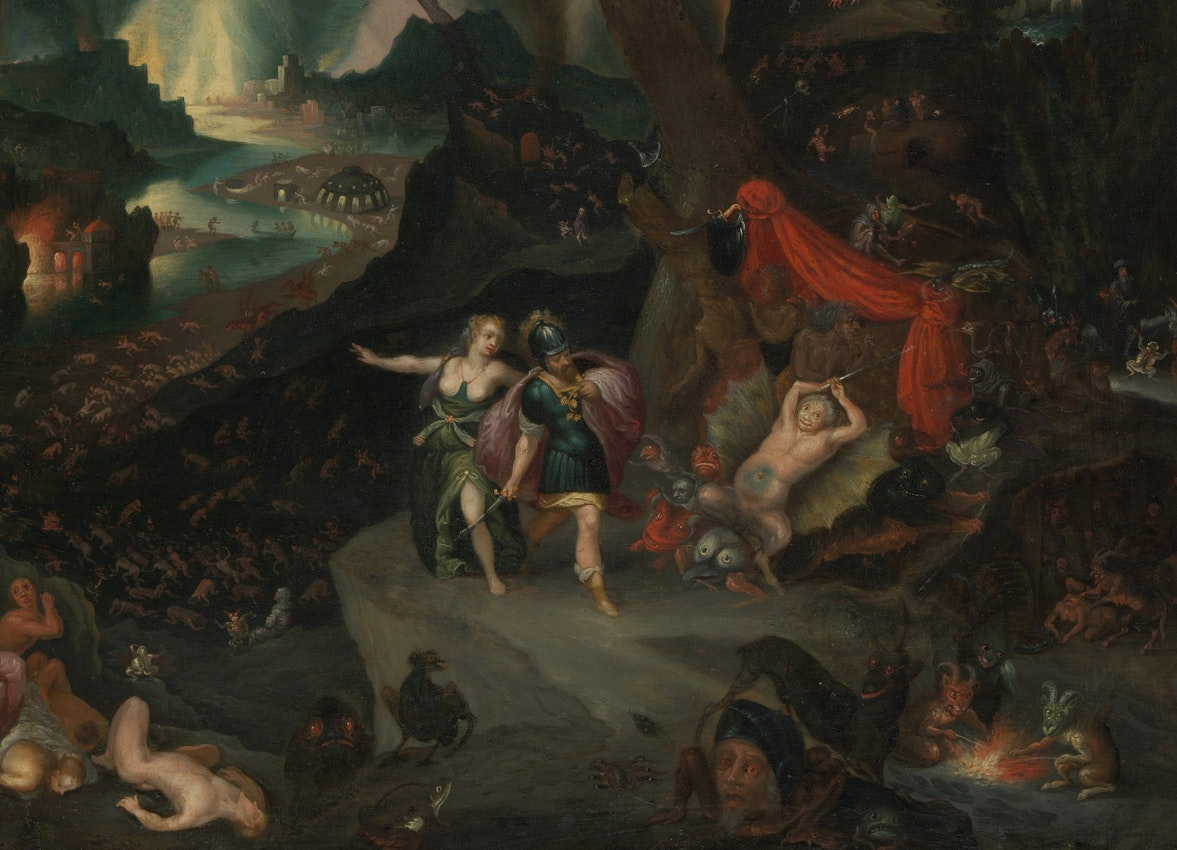 Aeneas and the Sibyl by Jan Brueghel the Younger
