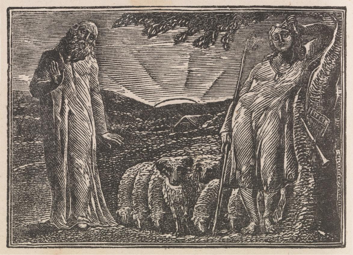 William Blake The Pastorals of Virgil