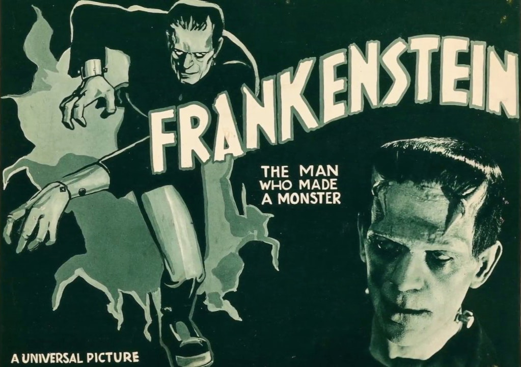 frankenstein 1931 film poster