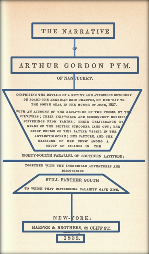The title page with a collection of rectangles and lines overlaid