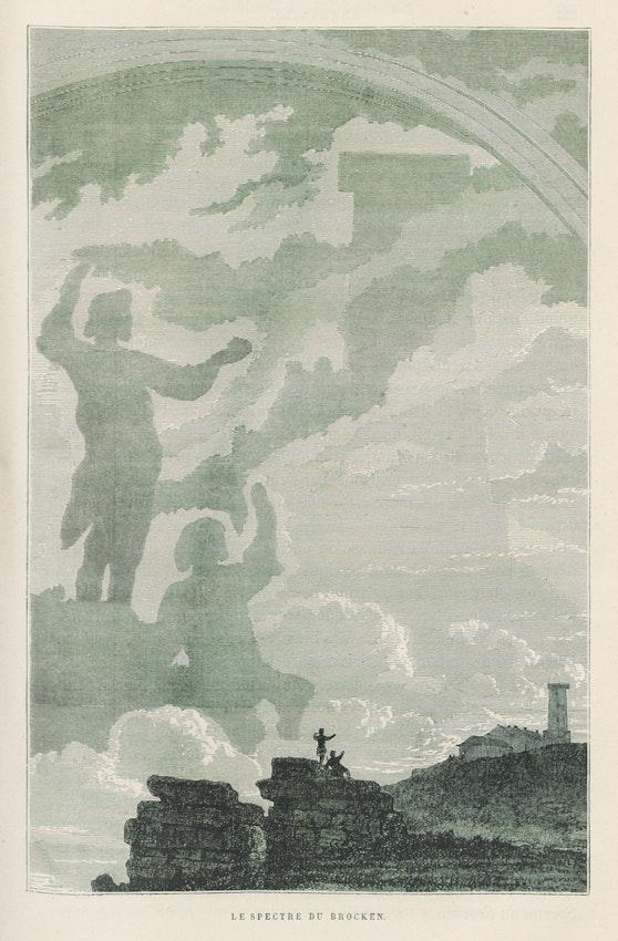 illustration of the Brocken specter