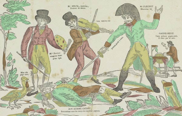The Art of Making Debts: Accounting for an Obsession in 19th-Century France