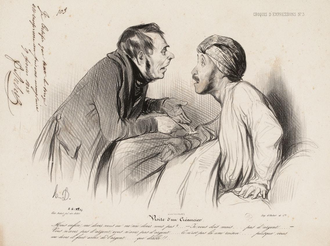 Honoré Daumier illustration
