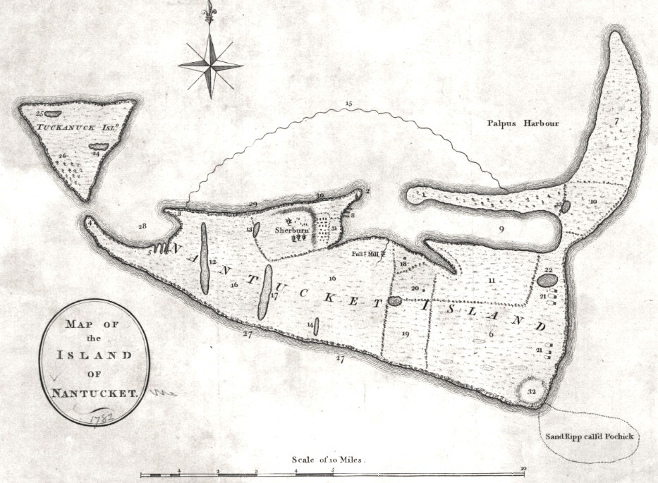 Nantutucket map