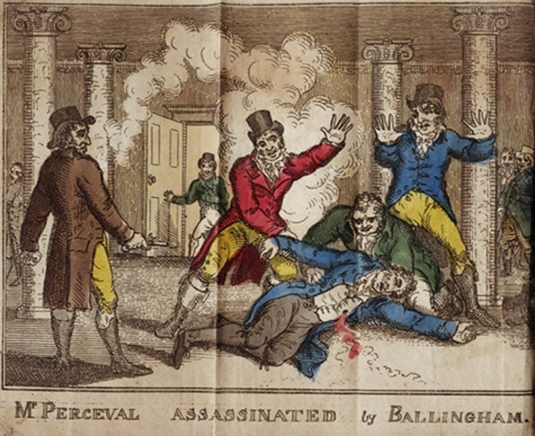 The Assassination of the Prime Minister, Spencer Perceval