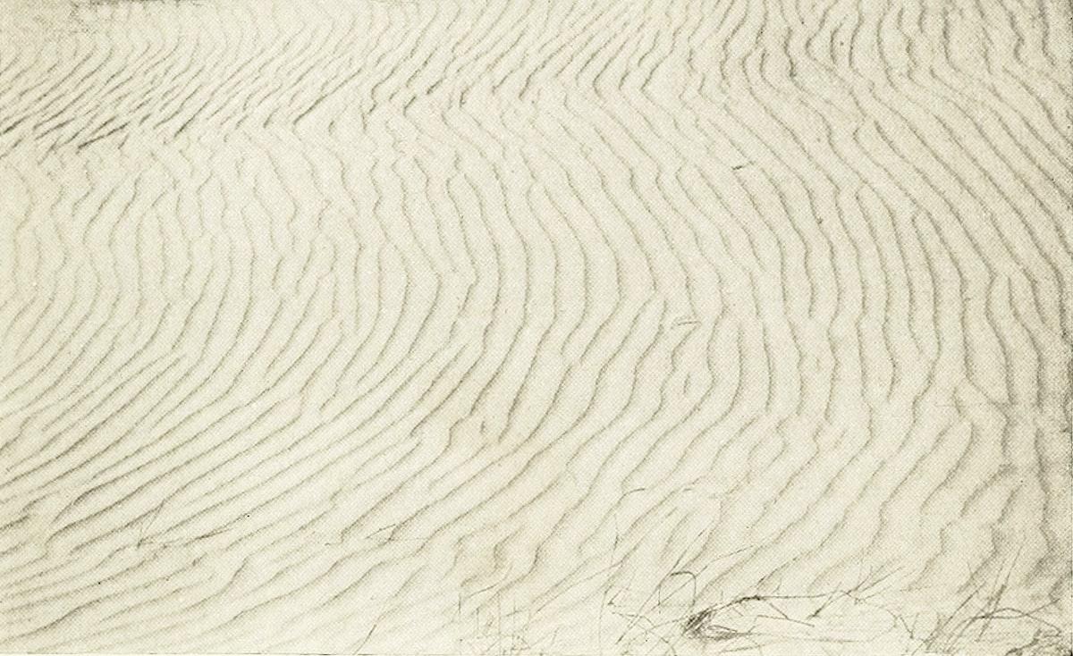 Ripples across sand