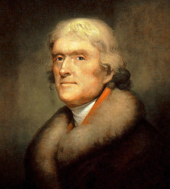 Thomas Jefferson by Rembrandt Peale (1805)