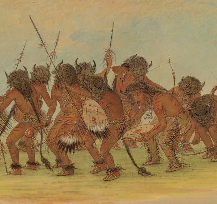 george catlin buffalo dance