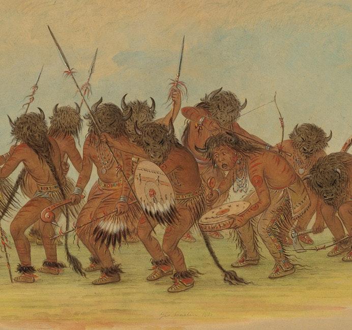 george catlin buffalo dance