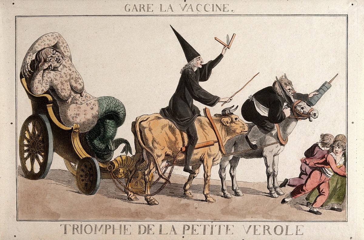 early anti-vaccination illustration
