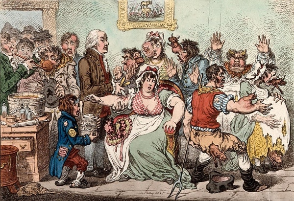 """The Mark of the Beast"": Georgian Britain's Anti-Vaxxer Movement"