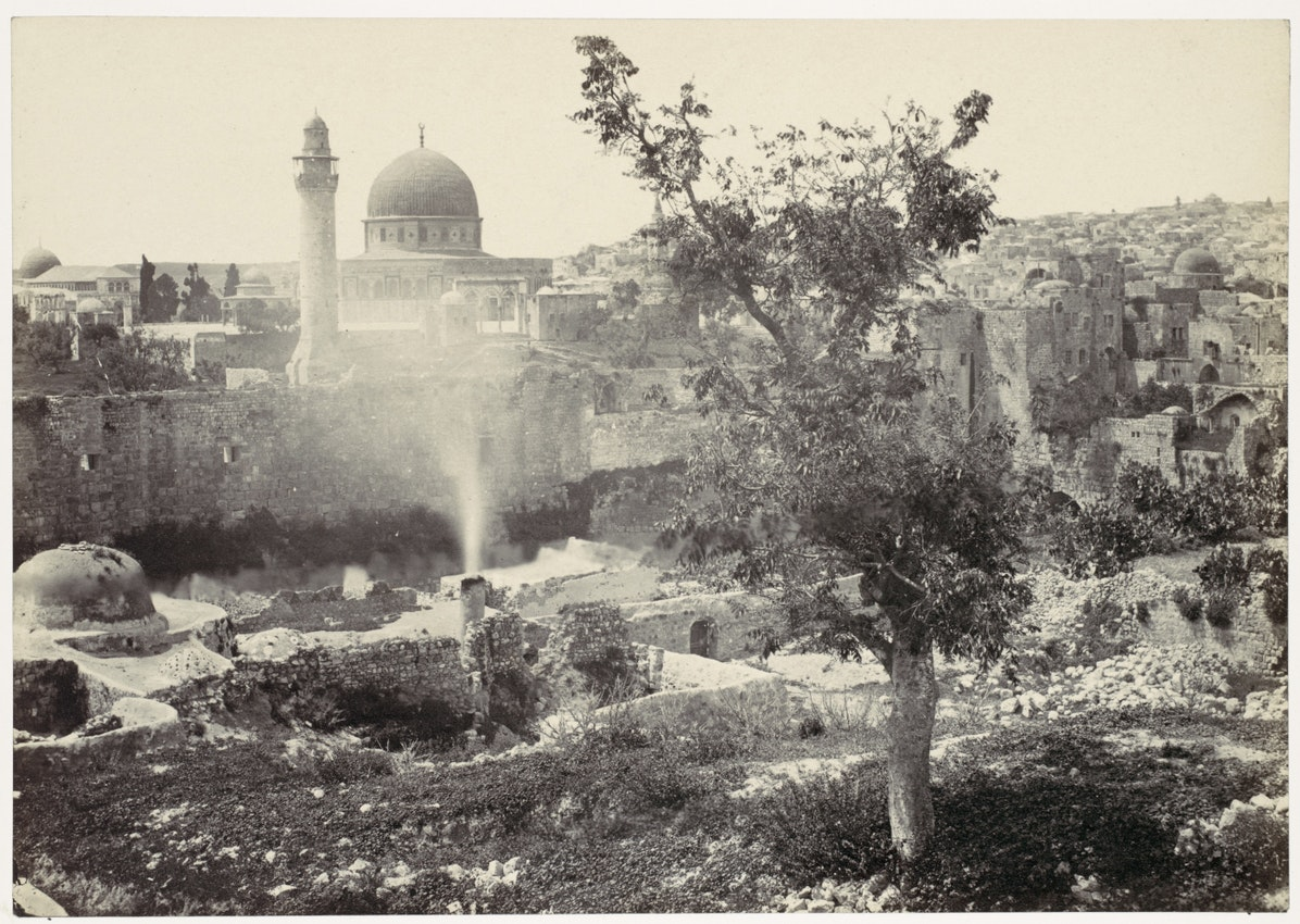 mosque of omar jerusalem frances frith