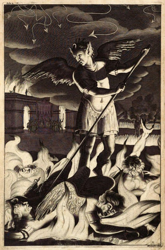 Grabado de Lucifer