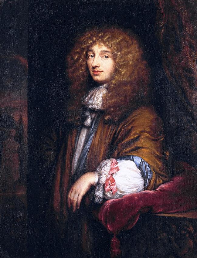 christaan huygens portrait