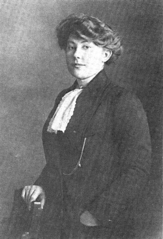 Photograph of Vera Ermolaeva 1920s