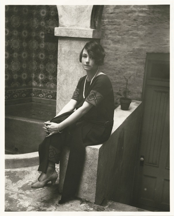 photograph of dorothy parker