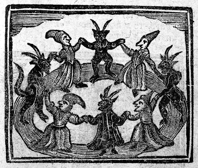 witches circle dance
