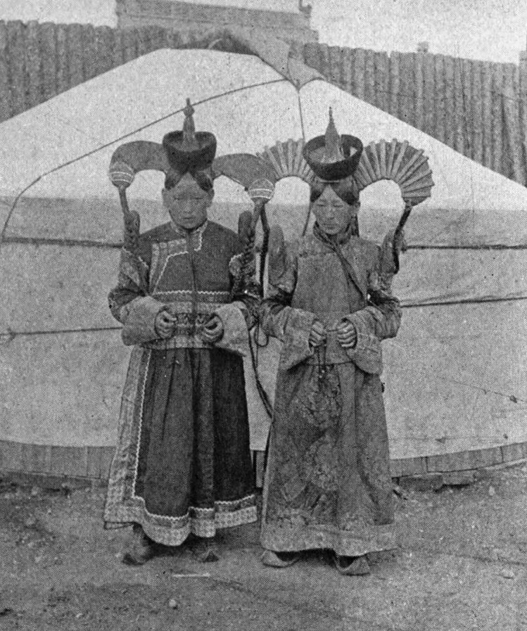 two girls headress