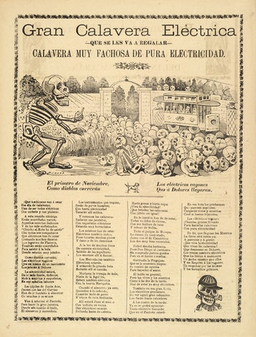 Grand Electric Calavera Broadside