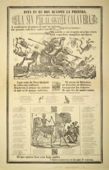 Don Quixote Broadside