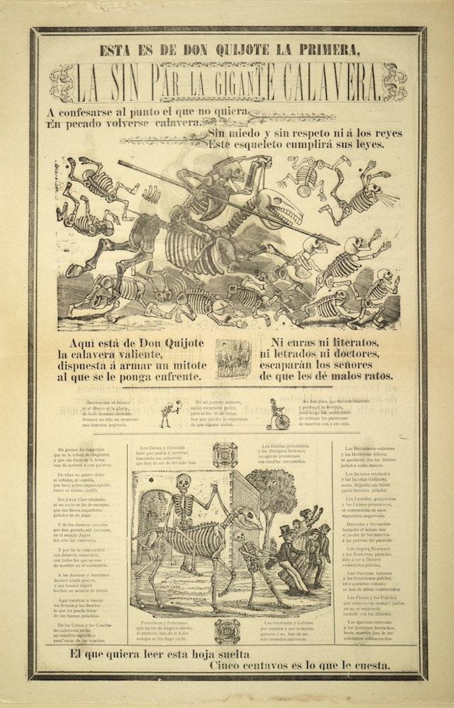 Don Quixote Broadside