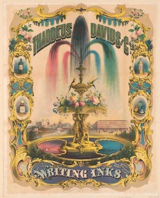 Thaddeus Davids and Co. Writing Inks