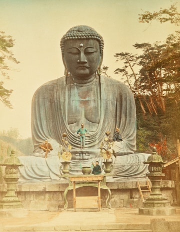 The Bronze Buddha at Kamakura