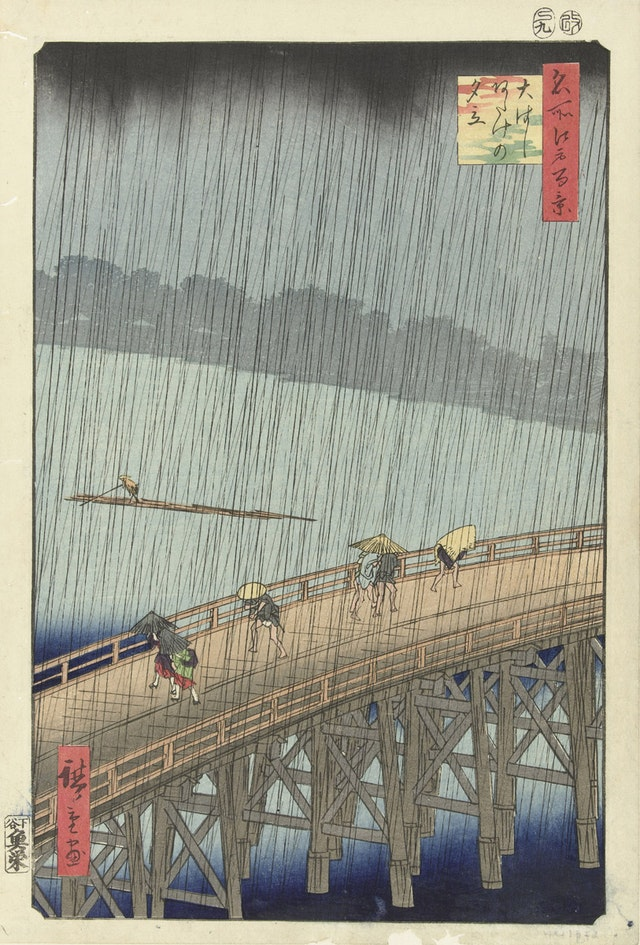 Unexpected Rainfall on the Big Bridge at Atake