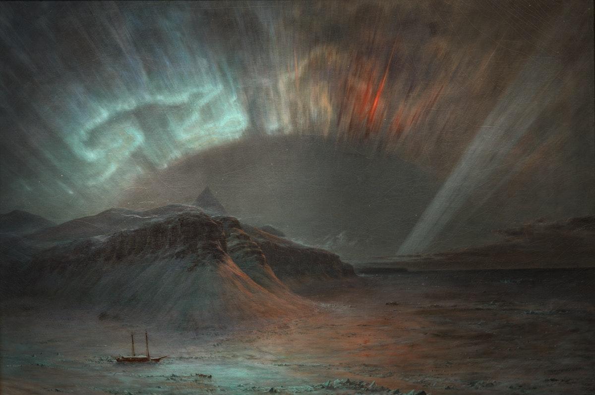Aurora Borealis Frederic Edwin Church
