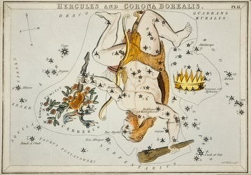 Hercules and the Corona Borealis