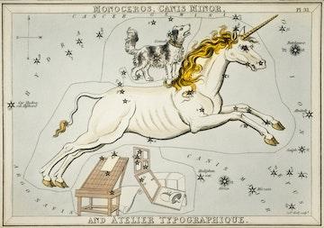 Monoceros, Canis Minor and Atelier Typographique