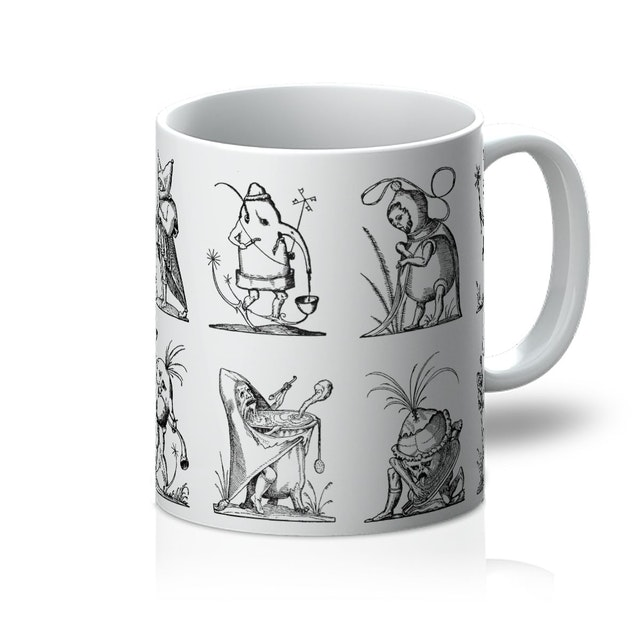 Drolatic Dreams of Pantagruel Mug