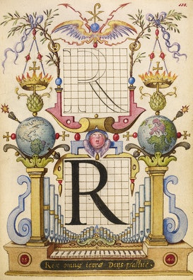 Guide for Constructing the Letter R