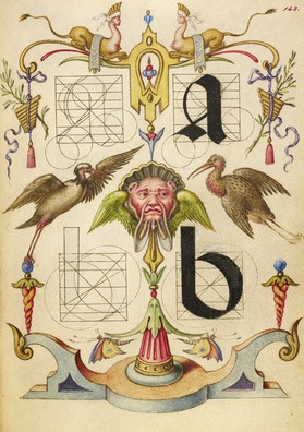 Guide for Constructing the Letters a and b